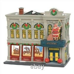 Dept 56 Christmas in the City Davidson's Department Store #6003057 BRAND NEW