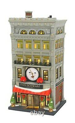 Dept 56 Christmas in the City FAO Schwartz #6007583 BRAND NEW 2021 Free Shipping