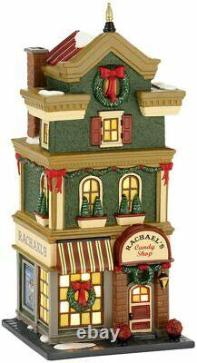 Dept 56 Christmas in the City Rachaels Candy Shop #4025244