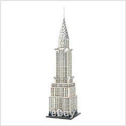 Dept 56 Chrysler Building Christmas In The City Captures New York Figurine Villa