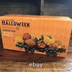 Dept 56 Halloween Haunted Rails Jack And His Lanterns Car Retired And Rare