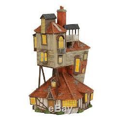 Dept 56 Harry Potter Christmas Village The Burrow 6003328 NIB