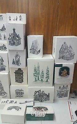 Dept 56 Heritage Collection accessories HUGE LOT 28 pieces collection sale Look