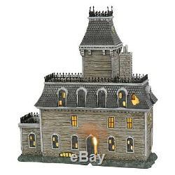 Dept 56 Hot Properties Halloween Village Adams Family House 6002948