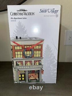 Dept 56 National Lampoons Christmas Vacation The Department Store #600634 NEW
