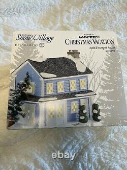 Dept 56 National Lampoons Christmas Vacation Todd And Margo's House NEW