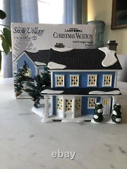 Dept 56 National Lampoons Christmas Vacation Todd And Margo's House NIB