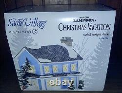 Dept 56 National Lampoons Christmas Vacation Todd and Margos house RARE