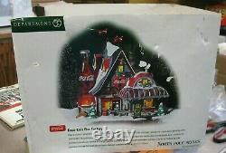 Dept 56 North Pole Series coca cola fizz factory