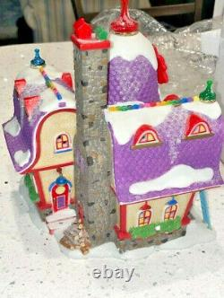 Dept 56- North Pole Village- North Pole Board Games Factory VERY RARE withBOX