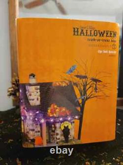 Dept 56 Snow Village Halloween Trick or Treat Lane The Bat House NIB