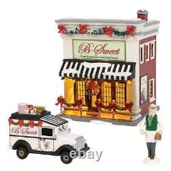 Dept 56 Snow Village LIMITED EDITION B-SWEET SHOP SET/3 6002956 Candy NEW IN BOX