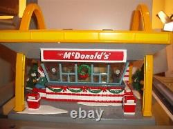 Dept. 56 Snow Village McDonalds Christmas Light up Ceramic House VGUC