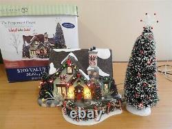 Dept 56 Snow Village The Peppermint House Christmas Lane