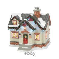 Dept 56 THE PEANUTS HOUSE SET OF 3 Christmas Lane Snow Village 6007629 New 2021