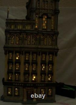 Dept 56 THE TIMES TOWER 2000 LED Lights Square 55510 Lemax Carole St SE RAREEX