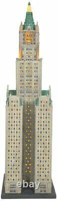 Dept 56 THE WOOLWORTH BUILDING Christmas In The City 6007584 NEW 2021 IN STOCK