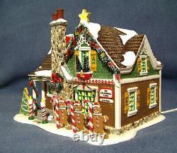 Dept 56 The Gingerbread House Original Snow Village Christmas Lane -799933