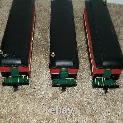 Dept 56 Village Express Electric Train & Track Set As Is (see description)