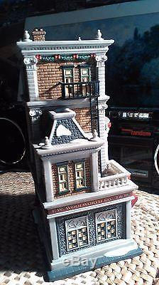 Dept. 56 Woolworth Christmas In The City Series Porcelain Village Store