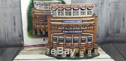 Dept 56 Xmas Village Holiday Old Comisky Park 59215 Baseball Chicago White sox