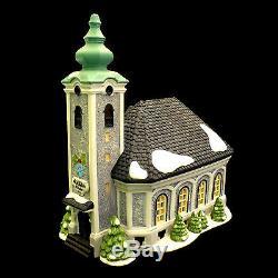 Deptartment 56 / Apline Village /'st. Nikolaus Kirche' Church / No. 5617-0