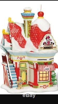 Disney Dept 56 Disney Minnies Village Bake Shop NEW