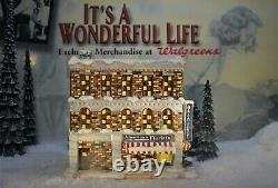 ENESCO ITS A WONDERFUL LIFE VILLAGE- American Florist Shop item 400712 (NO BOX)