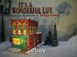 ENESCO ITS A WONDERFUL LIFE VILLAGE Bedford Falls Boston Suitcase (NO BOX)