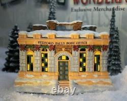 ENESCO ITS A WONDERFUL LIFE VILLAGE- Bedford Falls Post Office (NO BOX)