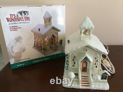 Enesco It's A Wonderful Life Bedford Falls Church Series III Pre-Owned