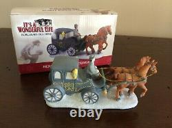 Enesco It's A Wonderful Life Henry F. Potter's Carriage Pre-Owned