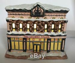Enesco Its A Wonderful Life Illuminated Village Bedford Falls The Emporium Inc