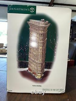 Flatiron Building Department Dept 56 Christmas in the City CLEARANCE SALE