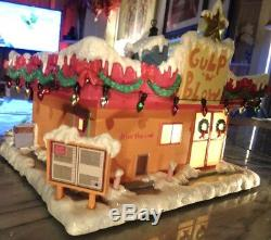 GULP N BLOW Simpsons Howthorne Christmas Village -Org Packaging WithCOA FHR