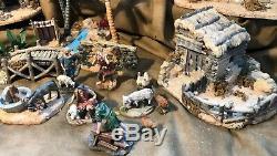 Grandeur Noel 41 Piece Bethlehem Village Set Collector Edition Nativity 663356