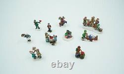 Grandeur Noel Collectors Edition 42 PIECE TRAIN VILLAGE Christmas Set # 663325B