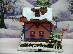 Hawthorne Village Rudolph's Christmas Town Nursery Ex Condition