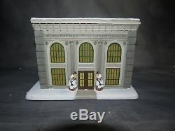 Hawthorne Village 2006 Its A Wonderful Life Potter's Bank With COA Pristine