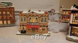 Hawthorne Village Boston Red Sox Christmas Village 10 piece set