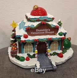 Hawthorne Village Bumbles Ornament Shoppe Shop Rudolphs Christmas Town RARE New