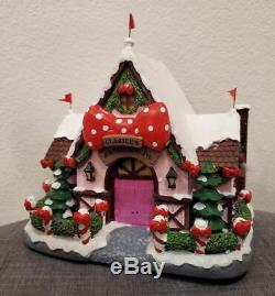 Hawthorne Village Clarice's Holiday Bow Shop Shoppe Rudolphs Christmas Town RARE