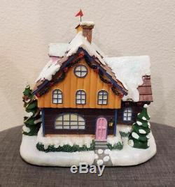 Hawthorne Village Clock Shop Rudolph & Friends Christmas Town Collection RARE NR