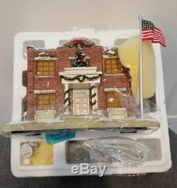Hawthorne Village Courthouse Mayberry Christmas Village Collection Andy & Opie