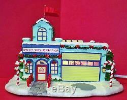 Hawthorne Village Dasher's Sleigh Repair Shop HTF WithCOA 2005 (ACS)