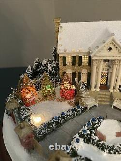 Hawthorne Village Elvis Presley Graceland A Christmas To Remember Lights Up