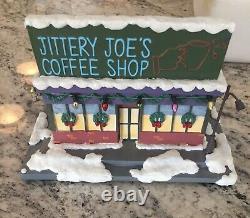 Hawthorne Village Jittery Joe's Coffee Shop Simpsons Christmas Village