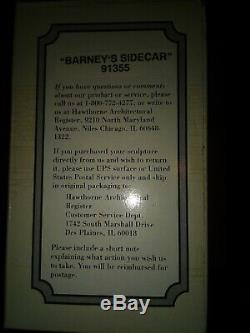 Hawthorne Village Mayberry Collection Barneys Sidecar Mint in box # 91355