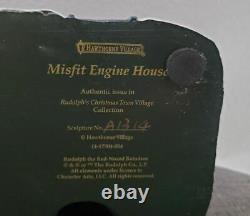Hawthorne Village Misfit Engine House Rudolph's Christmas Town Collection Rare