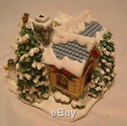 Hawthorne Village Precious Moments Lighted Christmas Village 26 Items